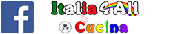 Italia4all cucina- Pagina Facebook