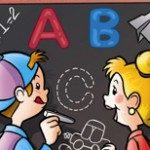 Divertiti SCRIVI E RISCRIVI le lettere Dell'alfabeto