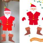 Decorazioni natalizie: Babbo Natale, Elfo e Pupazzo di neve