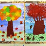 Autunno: gli alberi del nostro giardino…