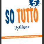 """""""So tutto"""", ebook con schede di Italiano da scaricare, per tutte le classi della Primaria"""