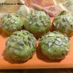 Muffins salati con cime di rapa