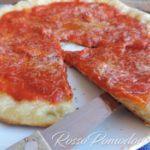 Pizza in padella all'amatriciana