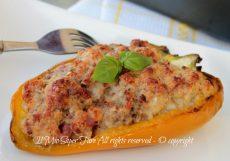 Peperoni ripieni al cartoccio ricetta peperoni al forno