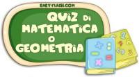 Quiz di matematica 8