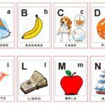 Alfabetieri e numeri da 0 a 10 da scaricare gratis