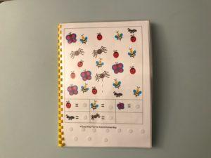 Quaderno pinguini, numeri e addizioni