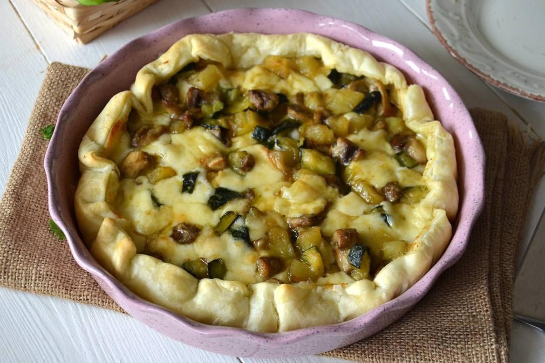 Decorazioni Torte Salate : Torta salata con verdure e formaggi italia4all scuola