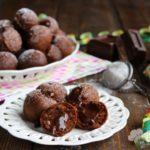 Castagnole al cioccolato ripiene