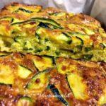 Frittata al Forno con Zucchine e Curcuma