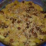 Sformato di miglio patate e funghi