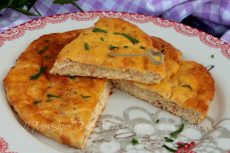 Frittata al forno con ricotta e prosciutto ricetta light gustosa e facile