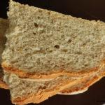 Pagnotta con germe di grano, crusca e lievito madre