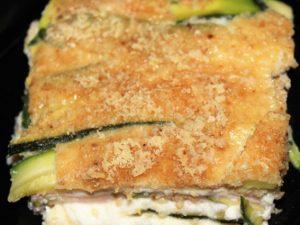 Parmigiana bianca di zucchine: il secondo a base di zucchine grigliate