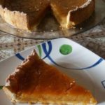 Crostata di farro con crema all'arancia