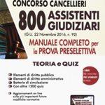 Gazzetta Ufficiale 3 marzo 2017: nuovo rinvio date prove Concorso Cancellieri