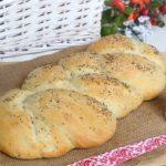 Treccia di pane all'olio