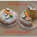 Cake con carote e cocco