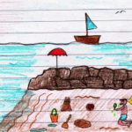 Il mare – Lettura e comprensione del testo – Spunti grammaticali