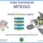 Giocare con la grammatica italiana