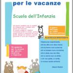 Quaderno per le vacanze per la scuola dell'infanzia … da scaricare!