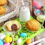 Muffin con ovetto di cioccolato