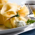 Ricette di Pasqua: Fagottini ripieni di certosa di erbe aromatiche. | La cucina di Susana