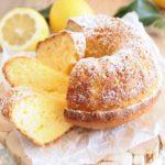 Ciambella al limone super soffice e senza bilancia