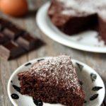 Torta al cioccolato, mandorle e cocco senza farina