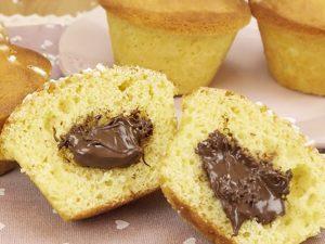 Muffin con cuore cremoso: la ricetta del dolcetto soffice e goloso