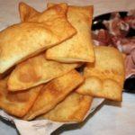 Gnocco fritto con lievito madre essiccato