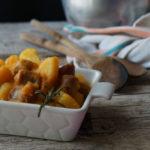 spezzatino di salsiccia e patate