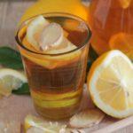 Infuso allo zenzero, miele e limone