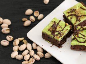 Brownies al pistacchio: la ricetta alternativa del dolce americano