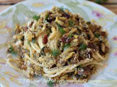 Pasta con le sarde e finocchietto selvatico