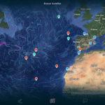 Lanciare messaggi in bottiglia e scoprire le correnti marine in tempo reale