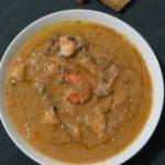 Zuppa di pesce delicata
