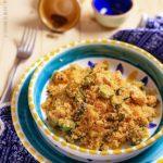 Cous cous con zucchine e pollo