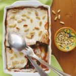 Parmigiana di Melanzane allo Yogurt Greco e Pinoli