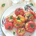 Pomodori ripieni di cous cous alle verdure