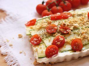 Cheesecake salato alle zucchine: la ricetta di una torta salata insolita