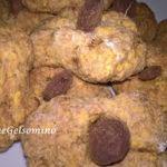 Biscotti integrali con polpa di frutta