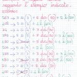 Primi giorni di scuola: matematica per classe terza della scuola primaria.