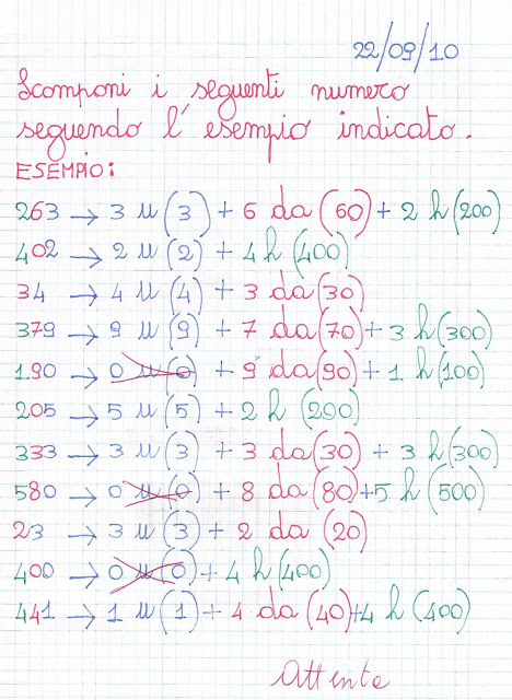 Primi Giorni Di Scuola Matematica Per Classe Terza Della Scuola