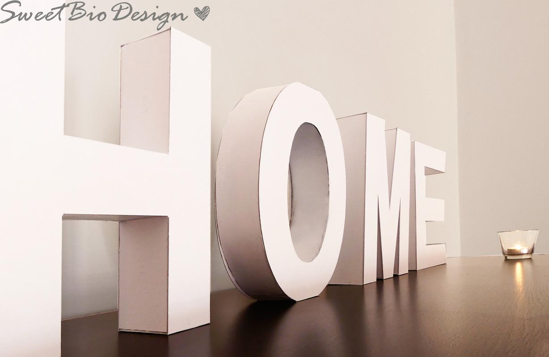 Come creare le lettere in 3d per arredare italia4all for Lettere in metallo per arredare