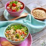 Insalata di riso ai tre cereali