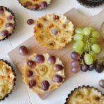 Tartellette all'uva