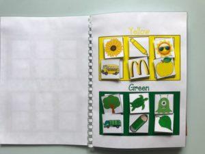 Quaderno colori e tanti numeri