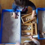 La scatola azzurra: gioco sensoriale