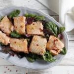 insalata di salmone fresco